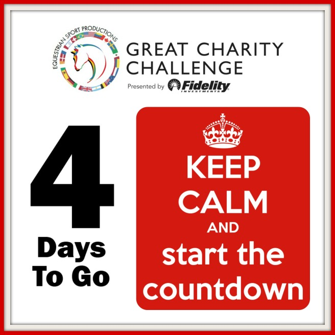 4 days to go- drawing of the charities