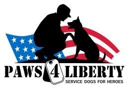 Paws 4 Liberty logo