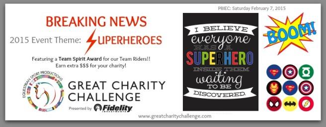 Superheroes Announcement