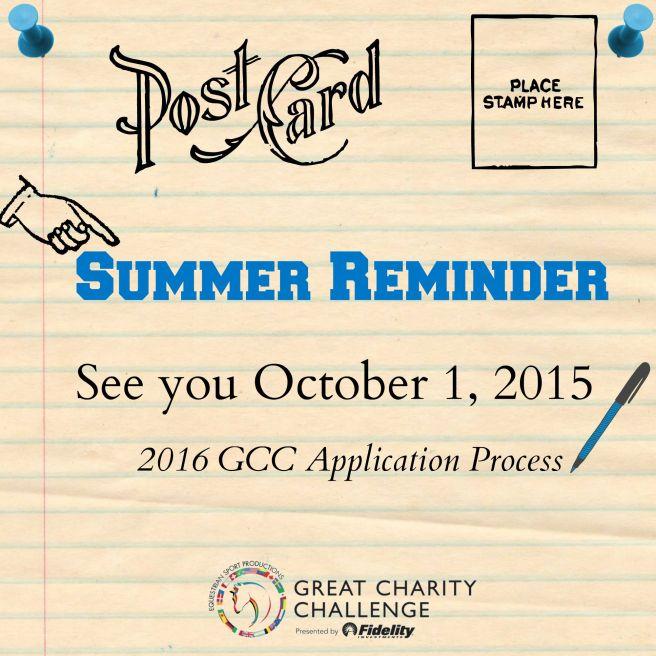 Summer Reminder